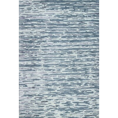 Cheap Janice Hand Tufted Blue Area Rug Rug Size 7 9 x 9 9  for sale