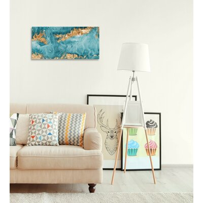 'Amada Mia Tall' Graphic Art on Wrapped Canvas