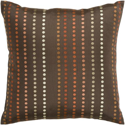 Joan Dots Throw Pillow Cover Size: 22 H x 22 W x 0.25 D