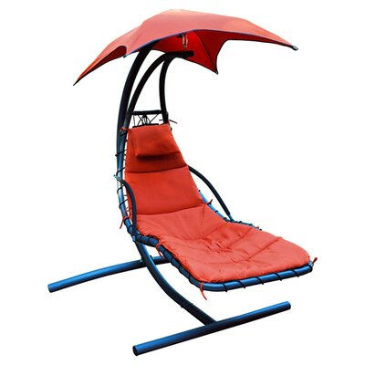Emilia 9 Hanging Chaise Lounger with Stand