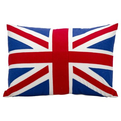 Mullan British Flag Throw Pillow