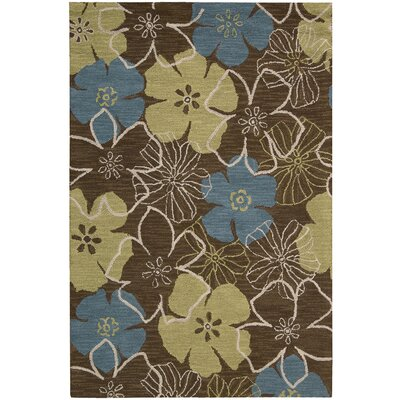 Berenices Light Brown Area Rug Rug Size: 5 x 76