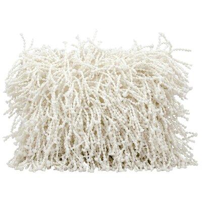 Cevenola Lumbar Pillow Color: White