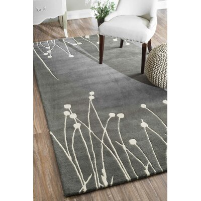Fanny Gray Area Rug Rug Size: Rectangle 6 x 9