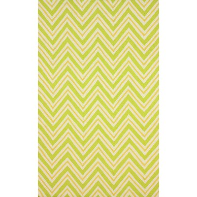 Evangelina Light Green Area Rug Rug Size: 76 x 96