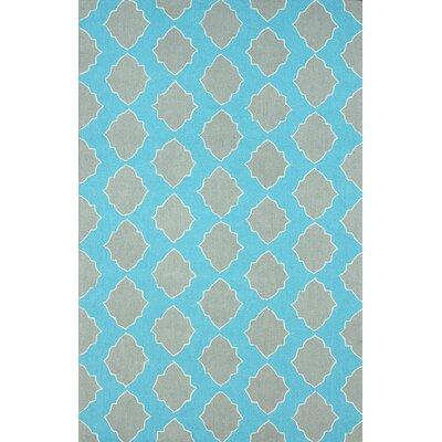 Evangelina Grey Ravi Area Rug Rug Size: 76 x 96