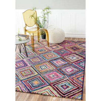 Hugh Indoor Area Rug Rug Size: Rectangle 41 x 6