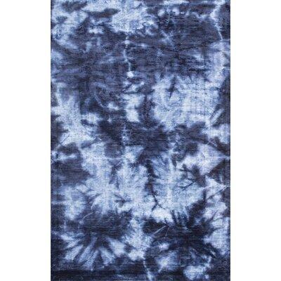 Jami Hand-Woven Blue Area Rug Rug Size: 5 x 8