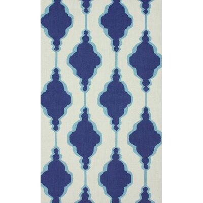 Reva Blue Area Rug Rug Size: 5 x 8