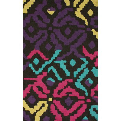 Reva Dark Multi Area Rug Rug Size: 7'6