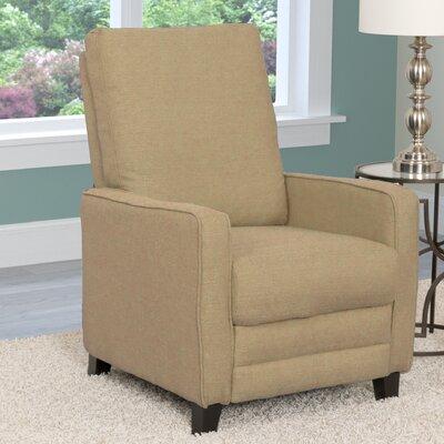 Kari Manual Recliner Upholstery: Beige