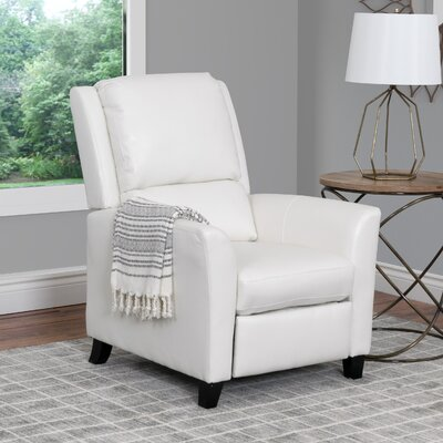 Julio Recliner Upholstery: White
