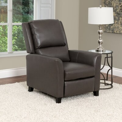 Julio Manual Recliner Upholstery: Brown