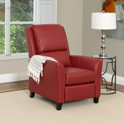 Julio Recliner Upholstery: Red