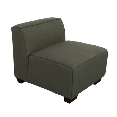 Randy Slipper Chair Upholstery: Army Green