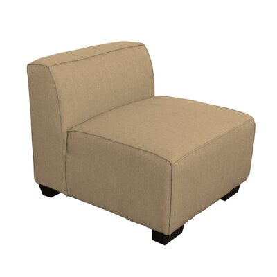 Randy Slipper Chair Upholstery: Beige