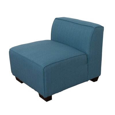 Randy Slipper Chair Upholstery: BLue