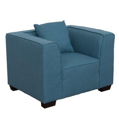 Randy Armchair Upholstery: Blue