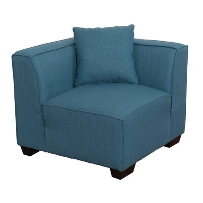 Randy Armchair Upholstery: Blue