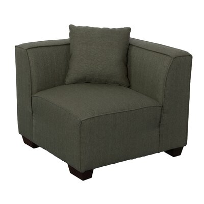 Randy Arm Chair Upholstery: Army Green