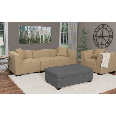 Randy Modular Sectional Upholstery: Beige