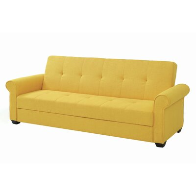 Garry Sleeper Sofa Upholstery Color: Yellow