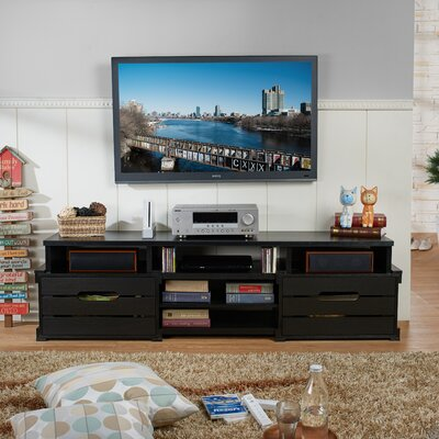 Camelopardalis 72 TV Stand Color: Black