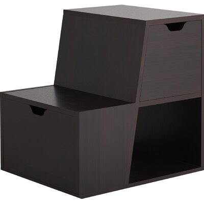 Capricorni End Table Color: Espresso