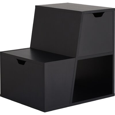 Capricorni End Table Color: Black