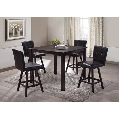 Neil 5 Piece Counter Height Dining Set