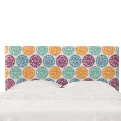Gregg Upholstered Panel Headboard Size: King