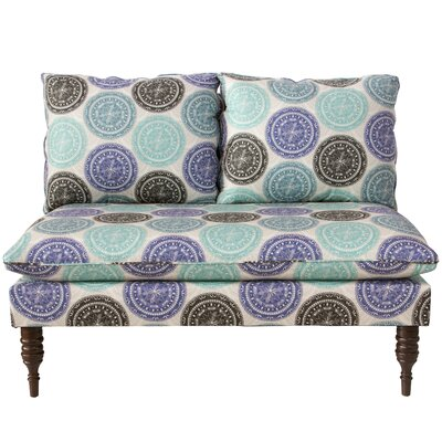 Wodella Medallion Armless Chaise Lounge