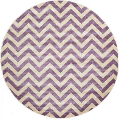 Alyria Purple Area Rug