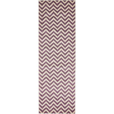 Erna Purple Area Rug