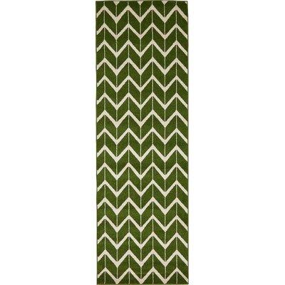 Essie Green Area Rug Rug Size: Runner 27 x 8
