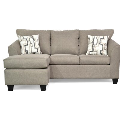 Randy Reversible Sectional Upholstery: Jitterbug Taupe