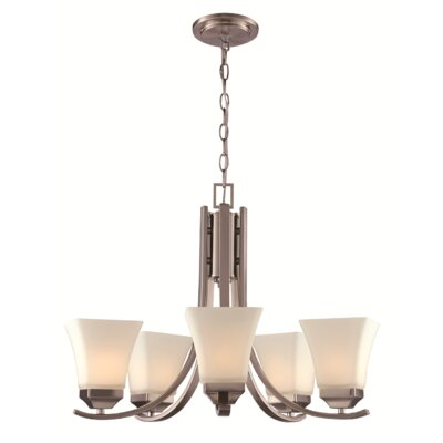 Darino 5-Light Shaded Chandelier