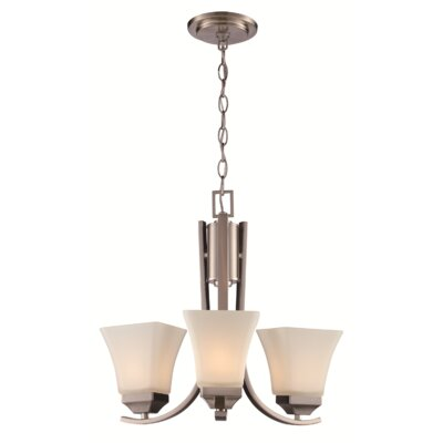 Darino 3-Light Shaded Chandelier
