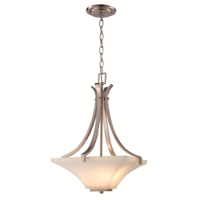 Zed 3-Light Bowl Pendant