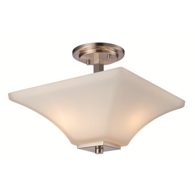 Elleen 2-Light Semi Flush Mount