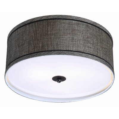 Juana 2-Light Flush Mount Finish: Oil Rubbed Bronze