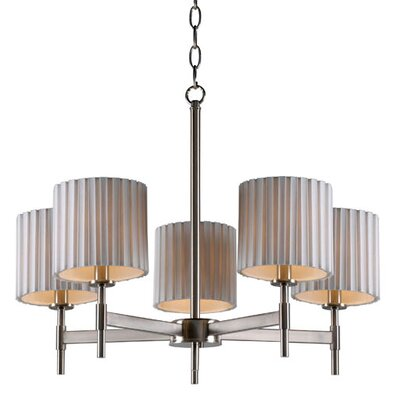 Weyman 5-Light Shaded Chandelier