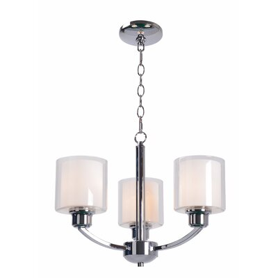 Wella 3-Light Candle-Style Chandelier
