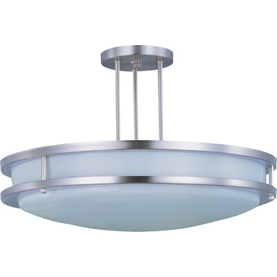 Steve 2-Light Semi-Flush Mount