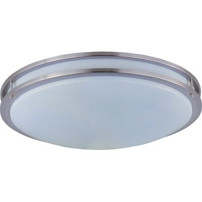 Steve 2-Light Flush Mount Size: 3 H x 24 W