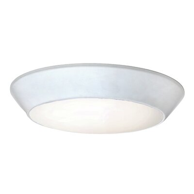 Karin LED Flush Mount Finish: White