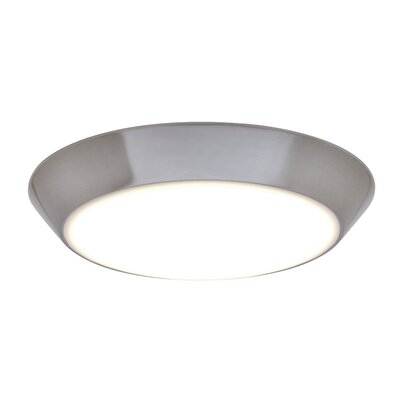 Karin LED Flush Mount Finish: Satin Nickel