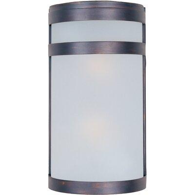 Alyce 2-Light Outdoor Bulkhead Light