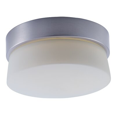 Zeil 1-Light Flush Mount Size: 4 H x 7 W x 7 D