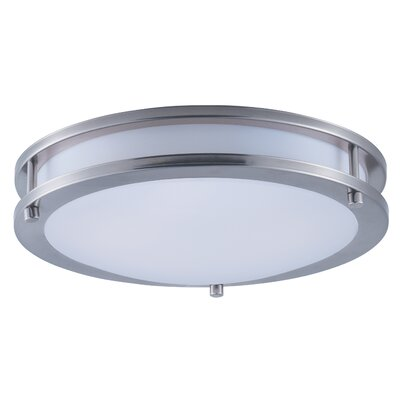 Steve 1-Light Flush Mount Size: 3.25 H x 12 W x 12 D